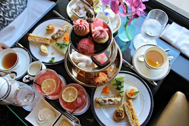 ritz carlton sf tea