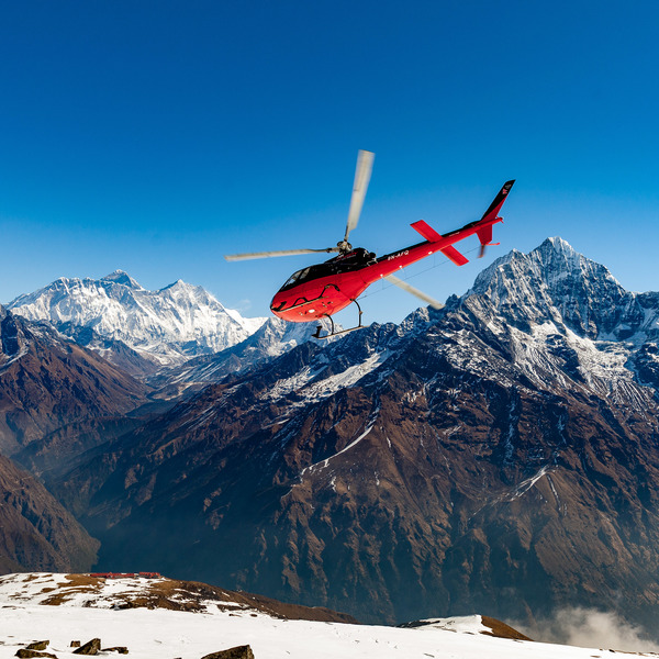 Helicopter Tour Of Everest