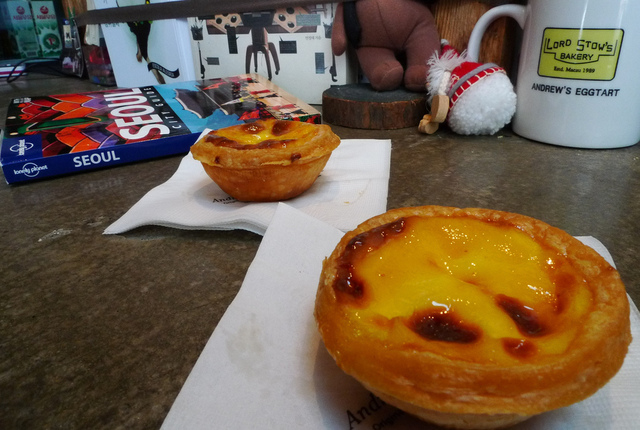 Lord Stow's Bakery, Andrew's Egg Tart, Seoul, South Korea