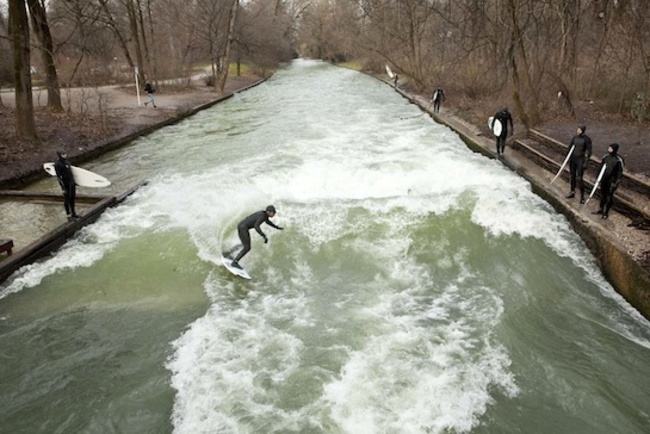 Eisbach, Munich, Germany