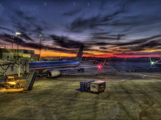 Logan International Airport, Boston, Massachusetts