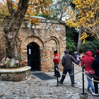 The House of the Virgin Mary, Selçuk, Turkey