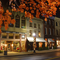 Downtown Franklin in the Fall, Franklin, Tennessee