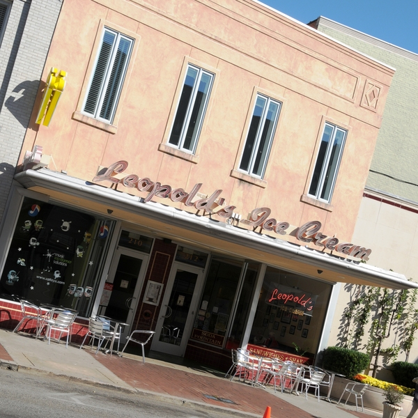 Leopold's Ice Cream, Savannah, Georgia