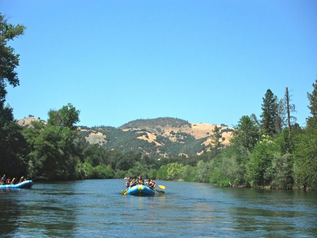 Gold Rush Whitewater Rafting, Lotus, California