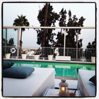 Pool at The Standard, Hollywood, West Hollywood, California