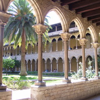 Monastery of Pedralbes, Barcelona, Spain