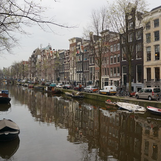 Singel, Amsterdam, The Netherlands