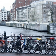 Canal Bike, Amsterdam, The Netherlands
