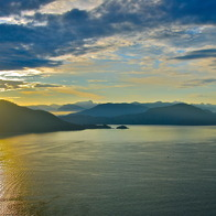 Sea to Sky Highway, West Vancouver, Canada