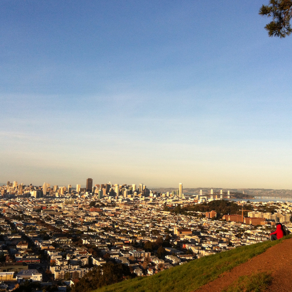 Bernal Heights Park, San Francisco, California