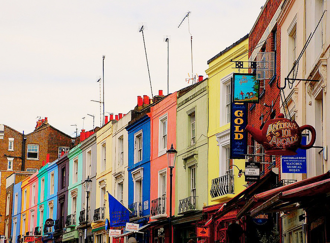 Portobello Road, London, United Kingdom