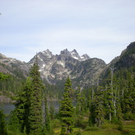 Spectacle Lake, Wenatchee National Forest, Snoqualmie Pass, Washington