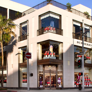 Burberry, Beverly Hills, California