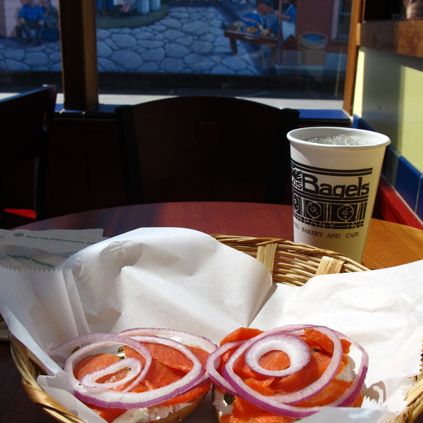 Los Bagels Co, Arcata, California