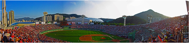 Sajik Baseball Stadium, Busan, South Korea