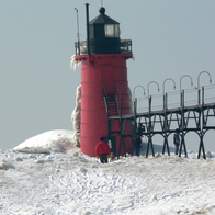 South Haven Lighthouse, South Haven, Michigan