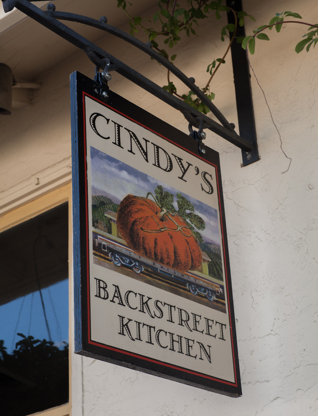 Cindy's Backstreet Kitchen, Saint Helena, California