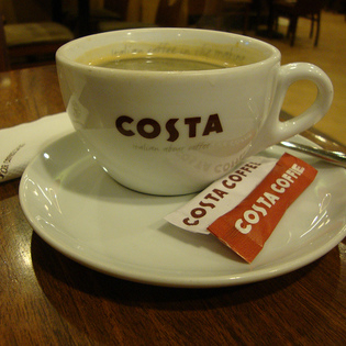 Costa Coffee, New Delhi, India