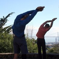 Hiking Yoga, San Francisco, California
