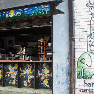Harry's Espresso Bar, Bondi, Australia