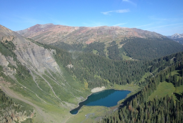 Heli fishing with scarp ridge lodge in crested butte for Crested butte fishing