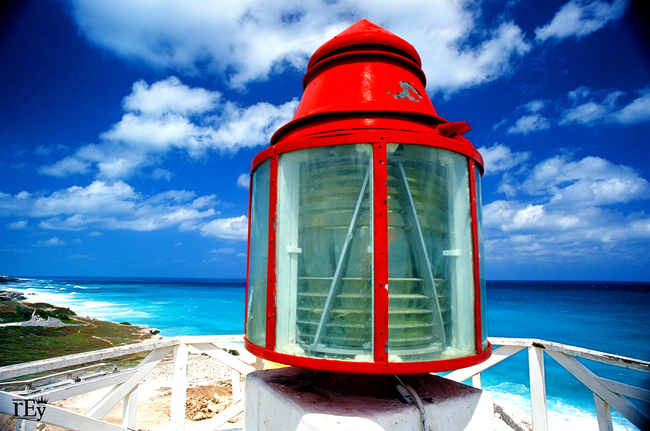 Punta Sur Lighthouse, Quintana Roo, Mexico