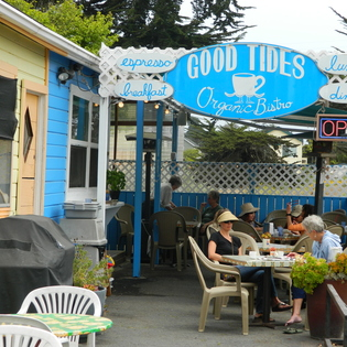 Good Tides Coffee House, Baywood-Los Osos, California