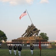 US Marine Corps War Memorial, Arlington, Virginia