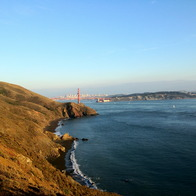 Conzelman Rd, Golden Gate National Recreation Area, CA, Sausalito, California
