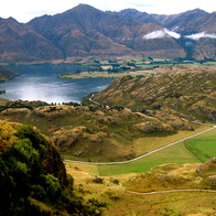 Diamond Lake, Wanaka, New Zealand