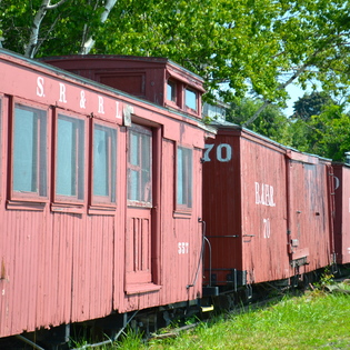 Maine Narrow Gauge Railroad Co. & Museum, Portland, Maine