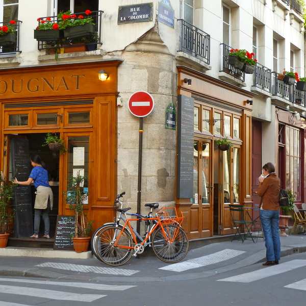 Rue de la Colombe, Paris, France