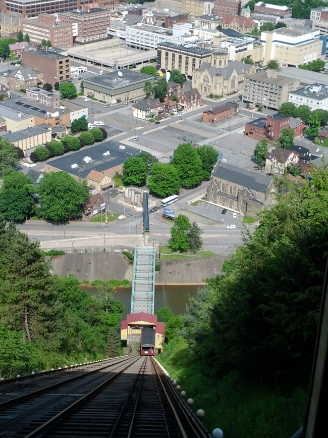 The Johnstown Inclined Plane, Johnstown, Pennsylvania