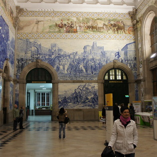 São Bento Train Station, Porto, Portugal