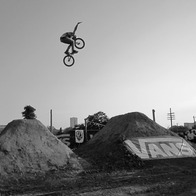 9th Street BMX Dirt Jumps/Trails, Austin, Texas