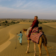 Great Thar Desert, Jaisalmer, India
