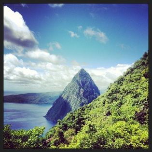 Piton Management Area, Soufriere, Saint Lucia