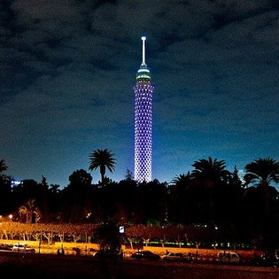 Cairo Tower, Al Jizah, Egypt