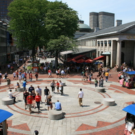 Faneuil Hall Marketplace , Boston, Massachusetts