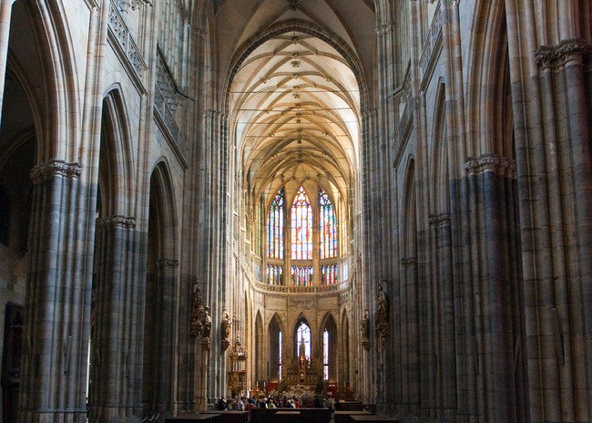 Saint Vitus Cathedral, Prague, Czech Republic
