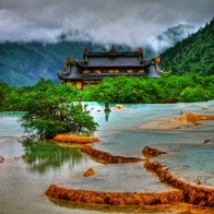 Huanglong National Scenery Spot, Aba, China