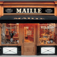 Boutique Maille Paris, Paris, France