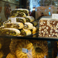 Italian sweets in Assisi, Assisi, Italy
