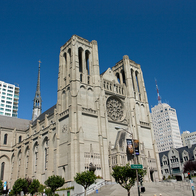 Grace Cathedral, San Francisco, California