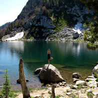 Amphitheater Lake, Alta, Wyoming