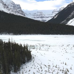 Icefields Parkway, Improvement District No. 9, Canada