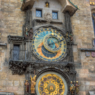 Prague Astronomical Clock, Prague, Czech Republic
