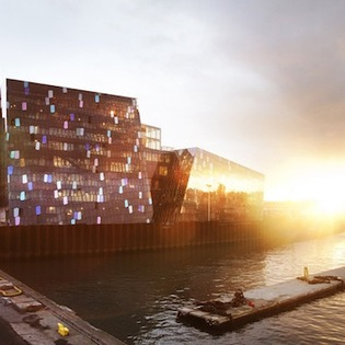 Harpa-Reykjavik Concert Hall and Conference Centre, Northwest, Iceland