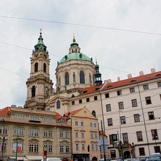St Nicholas Cathedral (Chram sv.Mikulase), Prague, Czech Republic